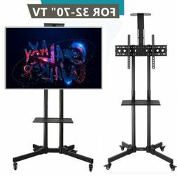 Leadzm Mobile TV Stand for 32 37 43 47 50 55 60 65 70 Inch L