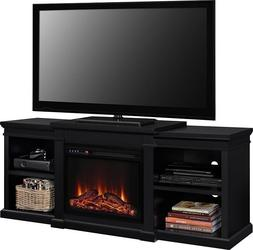 "LED Fireplace Console Extra Long TV Stand 65 "" Entertainme"