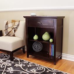 DonnieAnn Lindendale Espresso 1-drawer 30-inch Bookcase