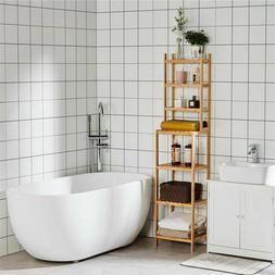 Living Room Bathroom Shelf 7-Tier Storage Shelves Rack Bookc