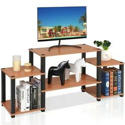 Living Room Classic TV Stand Entertainment Storage Cabinet M