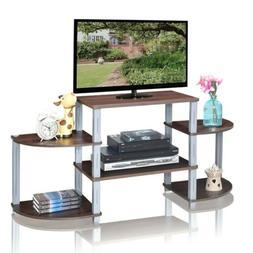 Living Room Modern 3-Cube Flat Screen TV Stand Storage Shelv