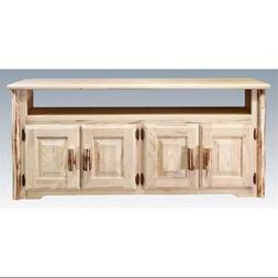 59 in. Log Television Stand