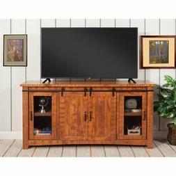 "Martin Svensson Home Omaha 65"" TV Stand, Honey Tobacco"