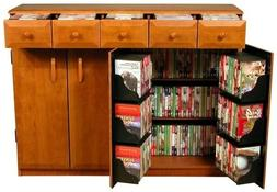 Venture Horizon Media Cabinet W/Drawers -Cherry