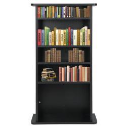 Media Storage Cabinet Game DVD Movie Tower Stable Organizer