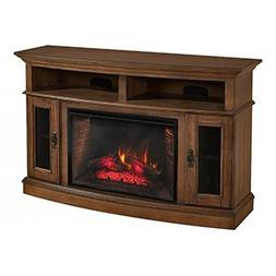 "Merrick Cabinet Brown & 26"" Infrared Firebox"