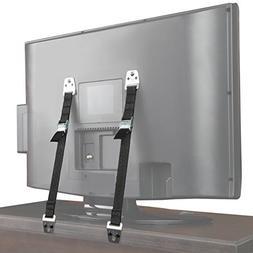 Metal Furniture TV Straps 2 Pack Bolts Hardware Included Saf