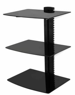 Mount-It MI-893 Floating Wall Mounted Shelf Bracket Stand fo
