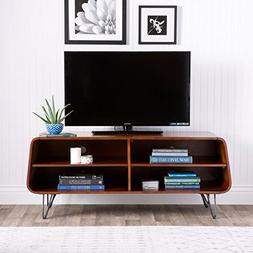 Mid-Century Modern TV Stand Provides Retro Style And Contemp