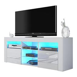 MEBLE FURNITURE & RUGS Milano 145 Modern TV Stand Matte Body