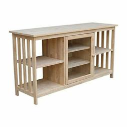 56 in. Mission TV Cabinet