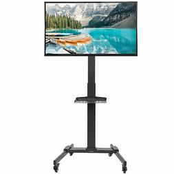 "VIVO Mobile TV Cart for 32"" to 55"" LCD LED Plasma Flat Panel"