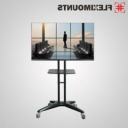 Fleximounts LED LCD Mobile TV Cart Stand Mount for Samsung 3