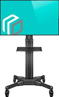 """ONKRON Mobile TV Stand with Mount Rolling TV Cart for 32"""""""