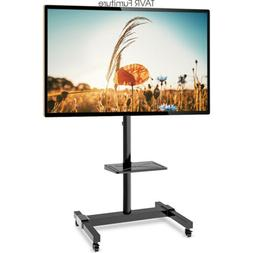 Mobile TV Stand Cart for 32 37 43 47 50 55 60 65 70 Inch LCD