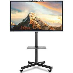 Mobile TV Stand Rolling TV Cart Floor Stand for 23-60 inch F