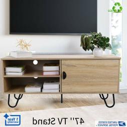 Modern 2 In 1 Telescopic TV Stand Furniture Cabinet Home She