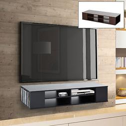"""Modern 47"""" Floating Wall Mounted TV Console Media Center She"""