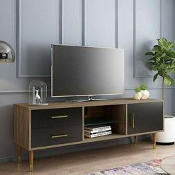 Modern 55'' TV Stand Console Furniture w/Storage Cabinet, Dr
