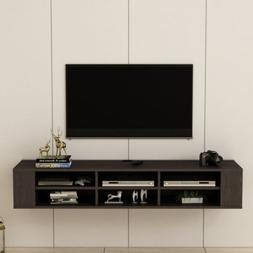 Modern 66 Floating Wall Mounted TV Stand Unit Cabinet Media