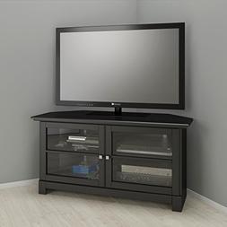 Nexera Pinnacle 49-inch Modern Unit 102906 Black Corner TV S