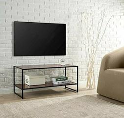 modern studio collection tv media center stand
