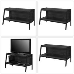 Modern TV Stand Black Storage Entertainment Center Home Medi