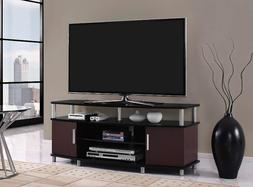 Modern TV Stand Cabinet Console Unit Shelves Media Entertain