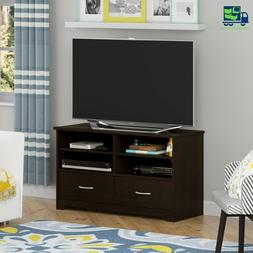 MODERN TV Stand -Cherry- wood With 4 Adjustable shelves for