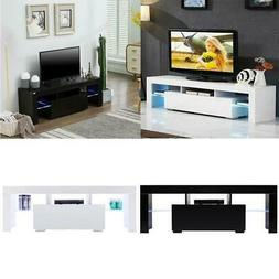 Modern TV Stand with LED Light Entertainment Center Console