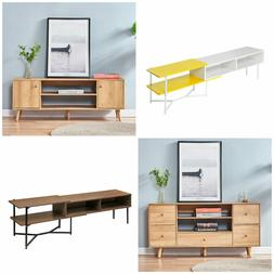 Modern Wood TV Stand Unit Cabinet Living Room Console Table