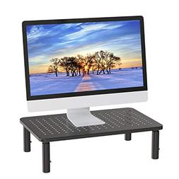 Monitor Stand Riser - 3 Height Adjustable Monitor Stand for