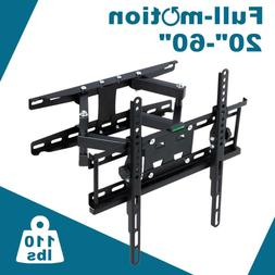 Heavy Duty Roof TV Ceiling Mount Bracket Tilt Swivel For 30-