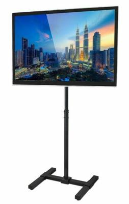 Mount-It! Mobile TV Floor Stand for Flat Panel Height Adjust