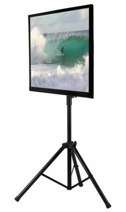 Mount-It! Tripod Portable TV Stand Fits LCD Flat Screen TV s