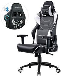 GTRACING Music Gaming Chair with Bluetooth Speakers【Patent