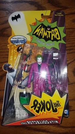 New Batman Classic Tv Series The Joker Action Figure CESAR R