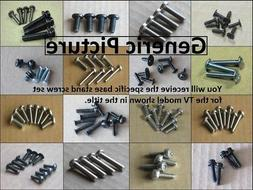 New Dynex DX-L32-10A Complete Screw Set for Base Stand Pedes