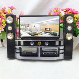 New Kid Dollhouse TV Theatre Set Furniture Accessories Outfi