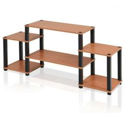 NEW Simple Elegant TV Audio Video Stand Display Shelves Livi