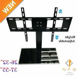New Hot Tabletop TV Stand Pedestal Base Swivel Wall Mount fo