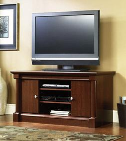 NEW TV Stand Entertainment Center Console Cherry Finish SHIP