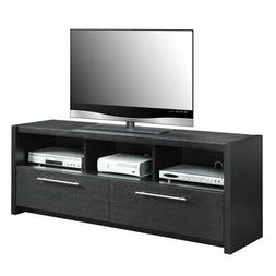 Convenience Concepts Newport Marbella TV Stand, Black