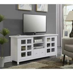 Convenience Concepts Newport Park Lane 60-Inch TV Stand, Whi
