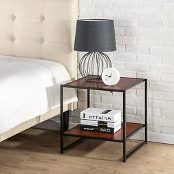 Nightstand Modern Side Table Bedside Bedroom Furniture Drawe