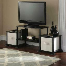 Mainstays No-Tool Assembly 3-Cube Entertainment Center for T