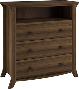 Ameriwood Home Oakridge Accent Table, Brown Oak