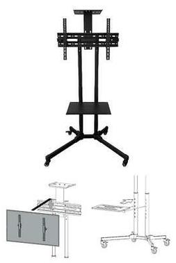 onn rolling tv stand for 32 70