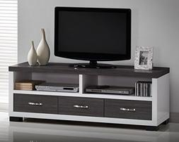 Wholesale Interiors Oxley Two-Tone Entertainment TV Cabinet
